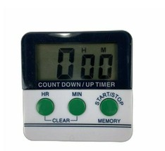 Winware Kitchen Cooking Timer with New Battery Instrutions Countdown Time - $12.73