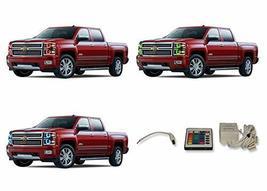 FLASHTECH for Chevrolet Silverado 14-15 V.3 Fusion Color Change RGB Mult... - $195.02