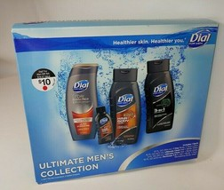 Dial For Men Ultimate Mens Collection Gift Set Body Hair Wash & Gel NEW - $24.70