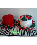Toilet Paper Crochet Cover Christmas Colors Decorations/Handmade Crochet - $10.00