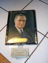 1934 Calendario da Wilkin Hotel e Cafe, Pubblicità, Roosevelt Incornicia... - $104.49