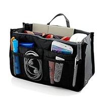 Insert Bag Organizer, in for Handbag Purse Organizer (13 Pockets, Black) - $12.65