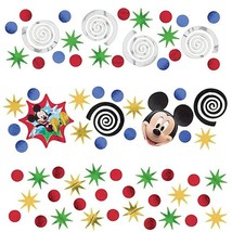 Mickey Mouse Clubhouse Disney Kids Birthday Party Decoration Confetti 3-Pack - $9.17