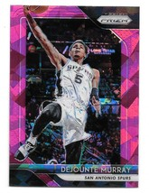 2018-19 Panini Prizm Dejounte Murray Pink Cracked Ice Prizm Card #261 - $1.24
