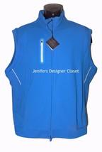 NWT BOBBY JONES Golf vest XL H2O blue UV UPF 15 moisture wicking coolplu... - $58.19
