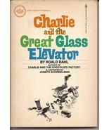 Bantam Charlie And The Great Glass Elevator PB Ronald Dahl - $2.95