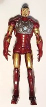 Marvel Comics IRON MAN Super Poseable Mark ACTION FIGURE Unmasked Tony S... - $24.74