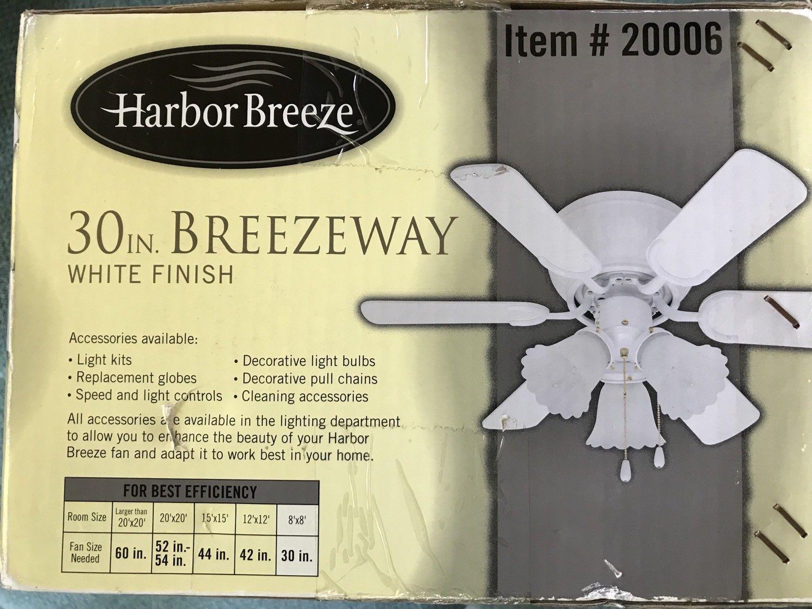 Harbor Breeze 30 Inch Breezeway Ceiling