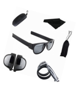 Foldable Sunglasses Silicone Clapping Bracelet Flexible Frame  Riding (B... - $16.00