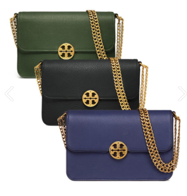 Primary image for TORY BURCH Chelsea Convertible Shoulder Bag with Free Gift Free Shipping