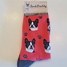 Boston Terrier Dog Socks Fun Novelty Dress Casual Unisex SOX Sock Daddy - $11.99