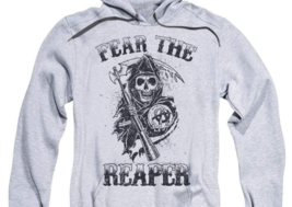 Sons of Anarchy Fear the Reaper Motorcycle Club graphic hoodie SOA124 image 2