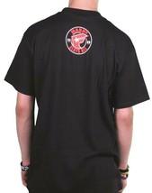 Famous Stars & Straps Mens Black Red All Day Manny Santiago MSA T-Shirt NWT image 2