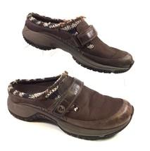Merrell OrthoLite Encore Scoop Clog Sneaker 7.5 Coffee Brown Slip On Cas... - $752,24 MXN
