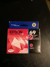 2021 Genuine OEM - Epson 69 T0693 Magenta Ink Cartridge - $9.87