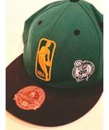 Mitchell Ness Boston Celtics NBA Basketball Fitted Baseball Hat Cap Size 8 - $12.82