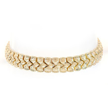 9.0mm 14K Yellow Gold Fancy Link Bracelet - $701.91