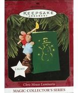 1997 New in Box - Hallmark Keepsake Christmas Ornament - Chris Mouse Lum... - $6.23