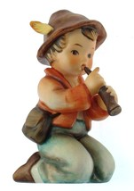 c1964 Goebel 214/H shepherd boy kneeling with flute Little Tooter from the - $162.08