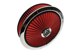 """14"""" High Flow Replacement Air Cleaner Assembly w/ Round Air Filter Element Kit image 3"""