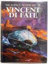 Science Fiction Art of Vincent Di Fate HC Edition Paper Tiger 2002 - $49.95