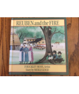 REUBEN and the FIRE Merle Good Amish boy witnesses barn burning barnrais... - $5.99