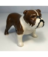 Vintage Bulldog Figurine Beswick England Bone China Puppy Dog Animal Porcelain - $19.79