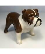 Vintage Bulldog Figurine Beswick England Bone China Puppy Dog Animal Por... - $19.79