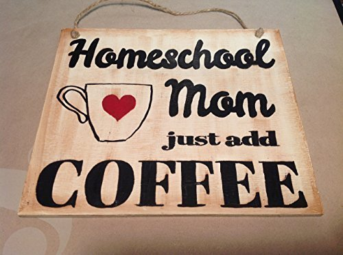 Elf Works Lane Satellite Workshop Custom Sign Homeschool Mom Just Add Coffee