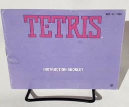 Tetris NES Instructions Manual Only Nintendo Entertainment System  - $4.99