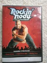 Shaun T Rockin Body 3 Workouts DVD Rock it Out Hard Core Abs Booty Time - $3.95
