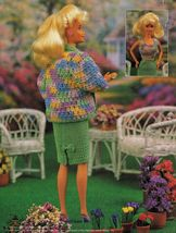 Easter Bunny Costume Dress Hat Suit 3 Sizes Barbie Doll Crochet Patterns image 4