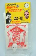 VINTAGE Magic Amazing Skull Puzzle Hong Kong in original package - $9.00