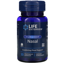 Life Extension Florassist Nasal Comforting Nasal Support 30 Capsules 12/21 - $18.90