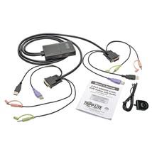 Tripp Lite 2-port Usb And Dvi Cable Kvm Switch TRPB032DUA2 - $130.73