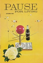Pause for Living Autumn 1968 Vintage Coca Cola Booklet Parties Candles More - $6.92