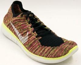 Nike Free RN Flyknit 843430 999 Multi-color Men's Running Shoes Sz 11 M - $51.29
