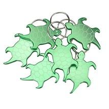 Swatom Turtle Aluminum Alloy bottle opener keychain, Creative Gifts, 6 P... - £9.05 GBP