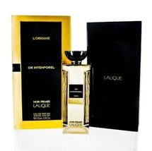 Noir Premier Or Intemporel by Lalique Edp Spray Unisex For Men and For W... - $112.99