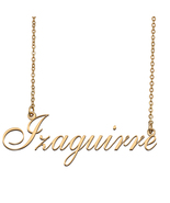 Izaguirre Custom Name Necklace Personalized for Mother's Day Christmas Gift - $15.99+