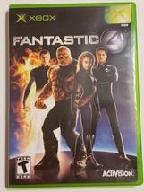 FANTASTIC 4 - OG Xbox Black Label Video Game CIB Complete - $7.87