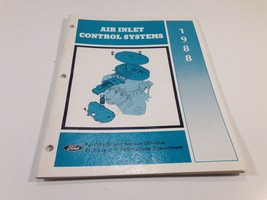 1988 Ford Air inlet Control Systems Manual 0900-25 - $9.99