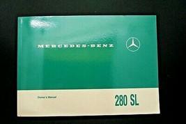 1969 Mercedes 280SL Pagoda w 113 Owners Manual 280SL  W113  - $247.49