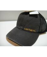 Carhartt Mens Sweatband Wicks Sweat Snap Back Adjustable Hat Color Blue - $23.33