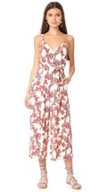 NWT Free People Hot Tropics Printed Jumpsuit  Neutral Mult Sizes - $89.99