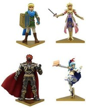 Capsule Hyrule Warriors Stand Figure All Four Set - $83.79