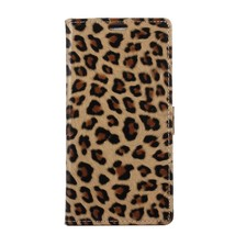 Leopard Texture Leather Wallet Stand Cell Phone Case for Samsung Galaxy ... - $10.28