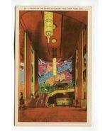 Foyer of the Radio City Music Hall New York City - $2.99