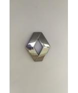 Renault Emblem Original Plastic Factory OEM Reno 824 625 ABS Chrome Logo Badge - $38.50