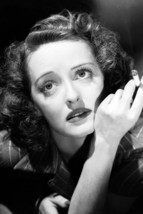 Bette Davis Beautiful B/W 1930's Pose Smoking Cigarette Eyes Up 18x24 Poster - $23.99